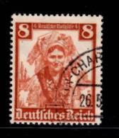 Germany Semi Postal 1935 8 + 4pf Branddenburg Issue #B73 - Germania