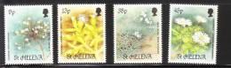 St Helena 1987 Rare Plants MNH - St. Helena