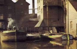 00989 Binnenschiffe Auf Der Wey Bei Weybridge - Commerce