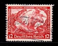 Germany Semi Postal 1933 12 + 3pf Siegfried Issue #B54 - Germania