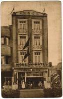 De Panne, La Panne, Modern Hotel, Avenue Des Chaloupes, Reclame Picon (pk8962) - De Panne