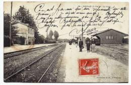 [44] Loire Atlantique   --  SOUDAN  --  La Gare - France