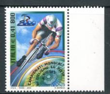 ITALIA / ITALY 2000** - Camp. Mondiali Ciclismo Su Pista - 1 Val. MNH  Come Da Scansione - Cycling