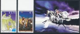 "REPUBLIC OF KOSOVO 2012 ""Myths And Legends, Set Of 2v & Souvenir Sheet** - Kosovo"