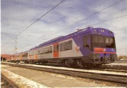 Nº619 POSTAL DE ESPAÑA DE UN TREN U/T 2102 CPMT (BRASIL) (TREN-TRAIN-ZUG) AMICS DEL FERROCARRIL - Trenes
