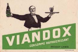 Buvard - VIANDOX - CONSOMME RAFRAICHISSANT - PRODUIT LIEBIG - Buvards, Protège-cahiers Illustrés