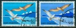 San Marino  1978  Intern. Briefmarkenausst. San Marino/Riccione  (2 Gest. (used) Kpl. )  Mi: 1158-59 (0,50 EUR) - Oblitérés