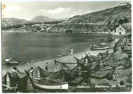 Italy, Palinuro, Panorama Del Porto, Used Real Photo Postcard [13461] - Salerno