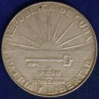 CUBA 1 PESO 1953 - Cuba