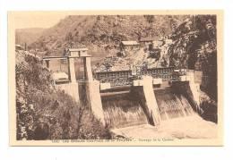 Les Grands Travaux De La Tuyère Barrage De La Cadène---(Réf.2689) - Non Classés