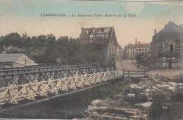 Landrecies        Le Nouveau Pont  Entrée De La Ville           Scan 2794 - Landrecies
