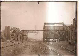 Photo Originale Des Mines D´Aniche: Fosse St René à Guesnain (nord) - Le Criblage - Métiers
