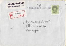 Nederland - Aangetekend/Recommandé Brief Vertrek Dokkum - Aantekenstrookje Dokkum 1772 - Poststempel