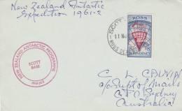 "ROSS - SCOTT BASE 1961 -  ""New Zealand Antarctic Programme"" - Dépendance De Ross (Nouvelle Zélande)"