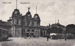 Mainz A.Rh. - Hauptbahnhof, Animé, Tram - Mainz