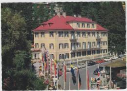 Badgastein: VAUXHALL VIVA, MERCEDES,BORGWARD ISABELLA,OPEL REKORD-A,FORD 15M & 20M- Meranhaus- Voiture/Auto/Car  Austria - Turismo