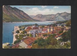 Montenegro PPC  Kotor Cattaro 1914 - Montenegro