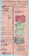Spoorwegfragment, Afst. BLANKENBERGE Nr6 08/07/1942 - 1942-1951