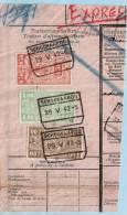 Spoorwegfragment, Afst. SCHOONAARDE 29/05/1942 - 1942-1951