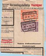Spoorwegfragment, Afst. WAESMUNSTER 18/10/1937 -- Waasmunster - 1923-1941