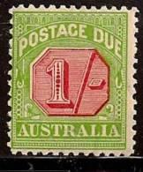 AUSTRALIA 1931-36 NUMERAL SC # J63 MVLH - Portomarken