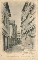 76 CAUDEBEC EN CAUX - La Rue De La Halle - Caudebec-en-Caux