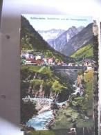 Zwitserland Schweiz Suisse Switserland UR Goeschenen Und Gotthardbahn - UR Uri