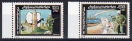 1991, A La Mémoire Des Déportés  - Libye,   Y&T No. 1815 + 1816, Neuf **, Lot 37707 - Libya