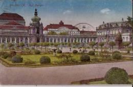 ALLEMAGNE:1925:DRESDEN (Saxe)/Al Kgl Zwinger.Affranchissement+Taxe Timbre Belge. - Dresden