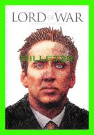 POSTERS ON CARDS - ACTOR, NICOLAS CAGE, IN THE FILM, LORD OF WAR  - - Affiches Sur Carte