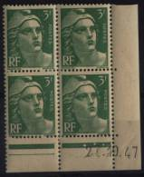 N° 716 A - X X - Daté 27/10/47 - Ecken (Datum)