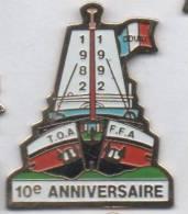 Marine Bateau Voilier , T.O.A  F.F.A. - Barcos