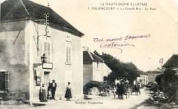 POLAINCOURT  - La Grande Rue - La Poste - France