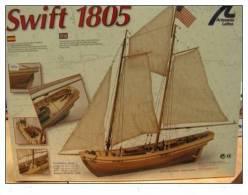 Artésania Latina - SWIFT 1805 - 1/50°- Bâteau Bois - Artesania - Boats