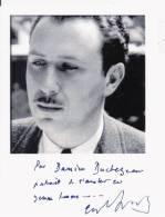 JEAN DUTOURD (1920 PARIS 2011)  ROMANCIER ESSAYISTE (ACADEMIE FRANCAISE) PHOTO DEDICACEE 2005 - Autogramme & Autographen
