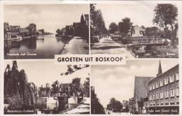 21731 -GROETEN UIT BOSKOOP Voorkade Zijde Biezen -taat Van Der Neut - Boskoop