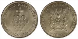 AZZORRE/AZORES 100 ESCUDOS 1980 §611 - Azores