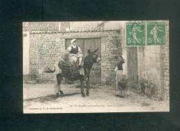 Ile De Ré (17) - En Route Pour Les Champs - Ane En Culottes ( Folklore Collection R.M. St Martin) - Ile De Ré