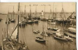 CPA : ROYAN : Le Port : Bcp De Bâteaux Dans Le Port - Royan