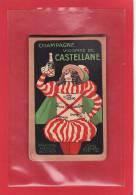 PUBLICITE / ALCOOLS / CHAMPAGNE VICOMTE DE CASTELLANE / Bloc Carnet Illustré Par Offiellon 1922 - Alcools