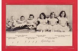 LUXEMBOURG / Luxembourg,den/FAMILLE-GR AND DUCALE / Prinzessin Maria Adelheid,Charlotte,Hilda, Antonia,Elisabeth Et Soph - Grand-Ducal Family