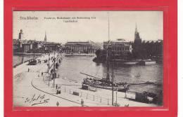 SUEDE / STOCKHOLM / Vasabron, Riddarhuset Och Stömsborg Fran Tgelbacken / Animation - Suède