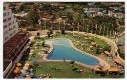 HOTEL TAMANACO - PISCINA - CARACAS - VENEZUELA - 1957 - Vedi Retro - Formato Piccolo - Venezuela