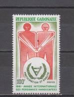 Gabon YT 472 ** : Année Des Handicapés - 1981 - Handicap