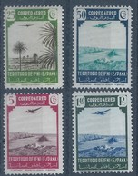 IFLT28-LT10TTOA.Maroc.Marocco.IFNI ESPAÑOL.Paisajes Y Avion. 1943.(Ed 28/35*) Con Charnela MUY BONITA - Transporte