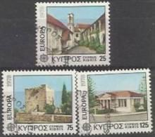 ZY GR 1978-484-6 EUROPA CEPT, ZYPREN GREECE, 1 X 3v, Used - Europa-CEPT