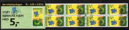DENMARK 2004 Child Welfare Day Booklet S136 With Cancelled Stamps. Michel 1360MH, SG SB236 - Booklets