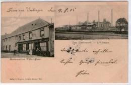 57 UCKANGE  --  E. GREGOIRE  -- Restaurant Witwe Bour  -- Les Forges - Autres Communes
