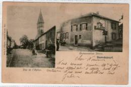 57 SEMECOURT  -- E. GREGOIRE  -- Rue De L´église Restauration Denis - Autres Communes