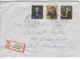 Einschreiben / Berlin Nr. 346 MIF - Covers & Documents